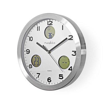 Nedis WEST300WT Wandklok Weerstation Hygrometer Buiten-unit
