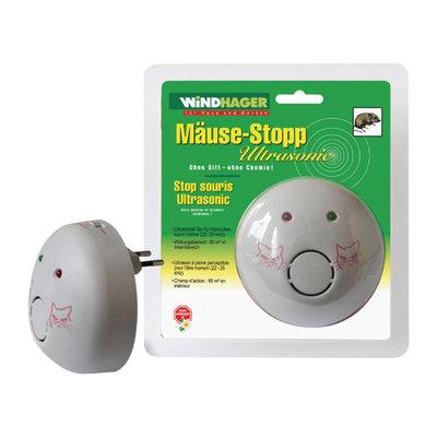 Windhager 05034 Ultrasone Muizenverjager 22/25 Khz 9 W Binnen