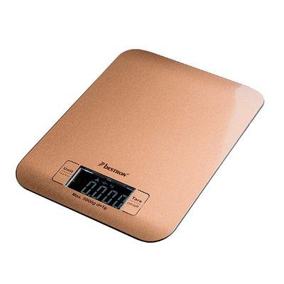 Bestron AKS700CO Digitale Keukenweegschaal Koper