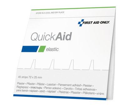Westcott Pleisters Refill First Aid Only 45x voor AC-P44002 Elastisch Zak 6 Stuks