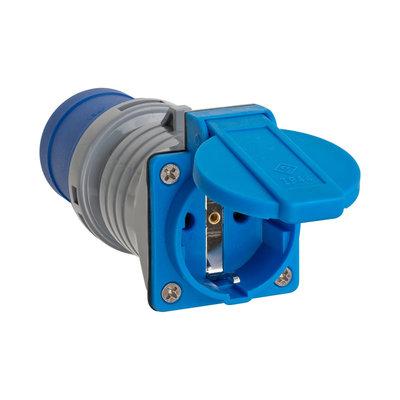 Brennenstuhl BN-1080991 Stekker Perilex / Frankrijk / Type E (cee 7/6) 16 A Grijs