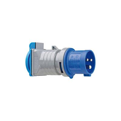 Brennenstuhl BN-1080990 Stekker Perilex / Schuko / Type F (cee 7/7) Grijs