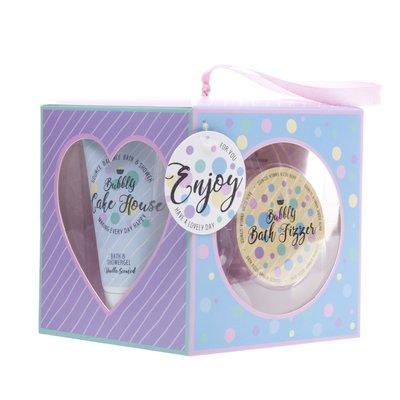 Enjoy Bubbly Cake House Bad Giftset 4-delig