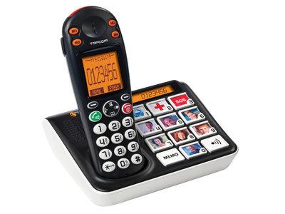 Topcom TS-5611 Big Button Dect Telefoon