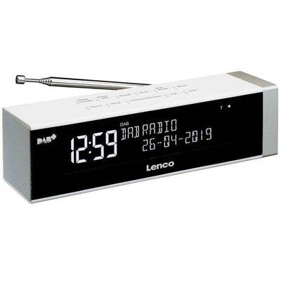 Lenco CR630 Wekkerradio Wit