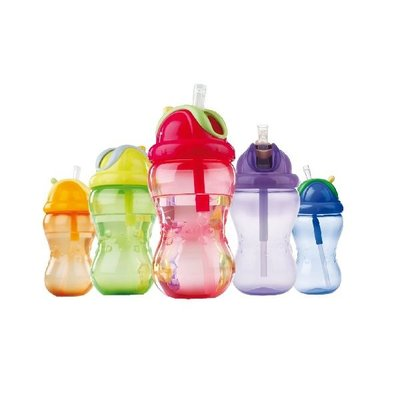 Nuby Drinkbeker met Rietje Step 3 355ml Assorti