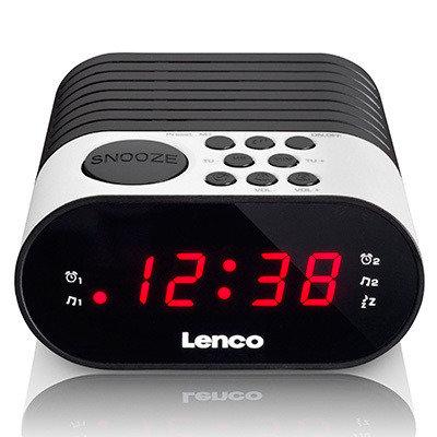 Lenco CR-07 Wekkerradio Wit