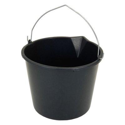 Emmer met Schenktuit 12 Liter Zwart