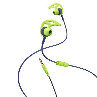 Hama In-ear-stereo-headset Action Blauw/groen