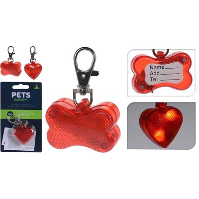 Pets Collection Honden Halsband LED-Lamp Assorti