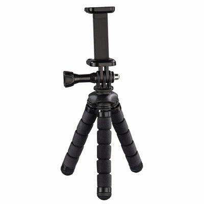 Hama Ministatief Flex Voor Smartphone En GoPro 14 Cm Zwart