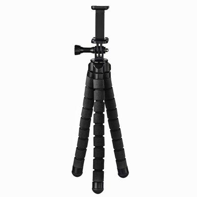 Hama Statief Flex Voor Smartphone En GoPro 26 Cm Zwart