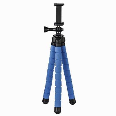 Hama Statief Flex Voor Smartphone En GoPro 26 Cm Blauw