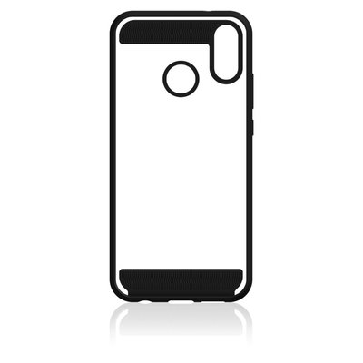 Black Rock Cover Air Protect Voor Huawei P20 Lite Zwart