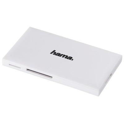 Hama USB-3.0-multi-kaartlezer SD/microSD/CF Wit