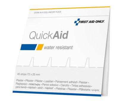 Westcott Pleisters Refill First Aid Only 45x voor AC-P44001 Waterproof Zak 6 Stuks