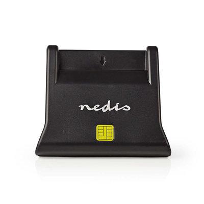 Nedis CRDRU2SM3BK Smartcard Reader Usb 2.0 Desktop Model Black