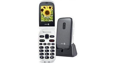 Doro 6030 Eenvoudige Telefoon met Camera + Noodknop Graphite