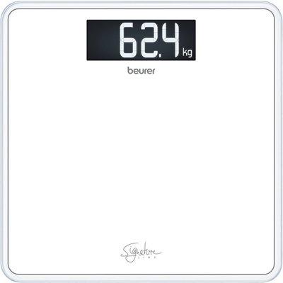 Beurer GS400 SignatureLine Glazen Personenweegschaal Wit