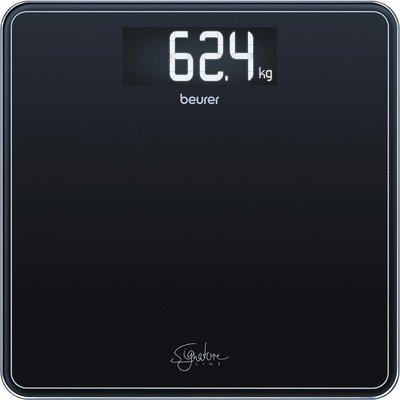 Beurer GS400 SignatureLine Glazen Personenweegschaal Zwart