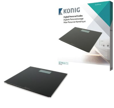 König HC-PS101N Ultraplatte Digitale Personenweegschaal