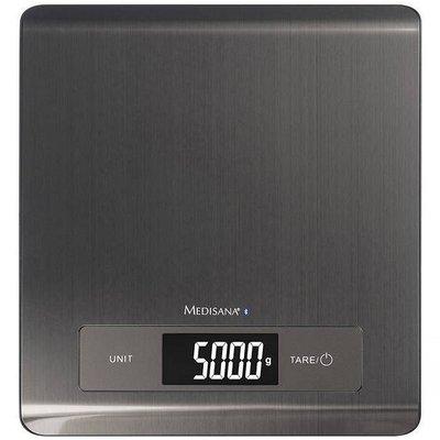 Medisana KS 250 Digitale Keukenweegschaal RVS/Grijs