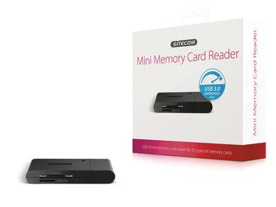 Sitecom MD-063 Usb 3.0 Mini Memory Card Reader