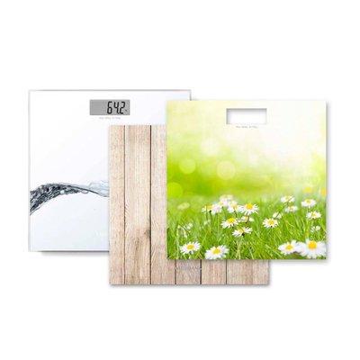 Medisana PS 405 Glazen Personenweegschaal + 3 Prints