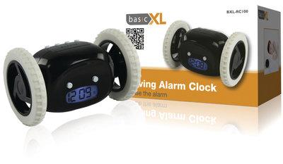 Basicxl BXL-RC100 Rijdende Wekker Zwart