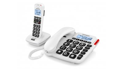 Thomson Serea Comby Dect En Vaste Telefoon Wit