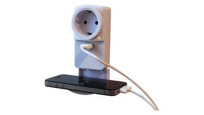 EXIN USB Doorsteekstekker 1A