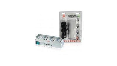 Brennenstuhl Bn-1154540134 Desktop Power Usb