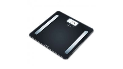Beurer BF600 Diagnostische personenweegschaal 30x30x2.1 cm Zwart