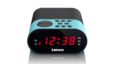 Lenco CR-07 Wekkerradio Blauw